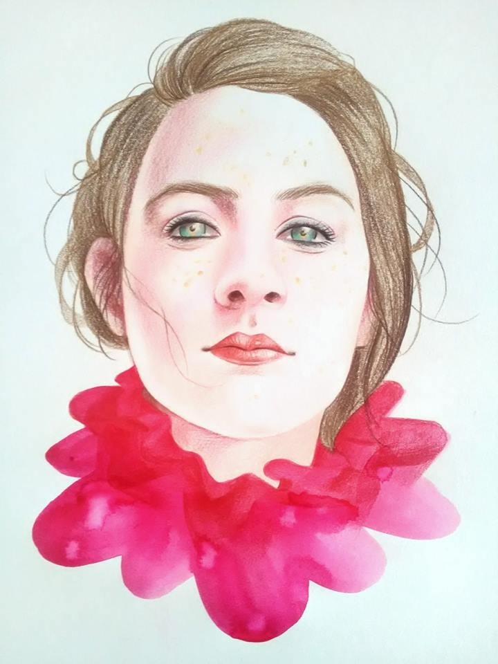 Saoirse Ronan by Hallward